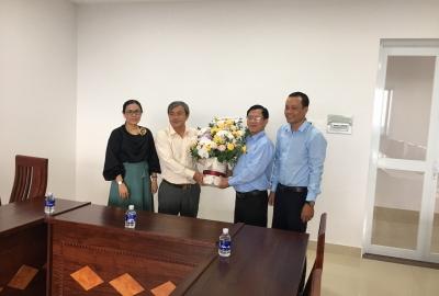 Khoa Chính trị - Hành chính thăm và làm việc với Sở Nội vụ tỉnh Bến Tre